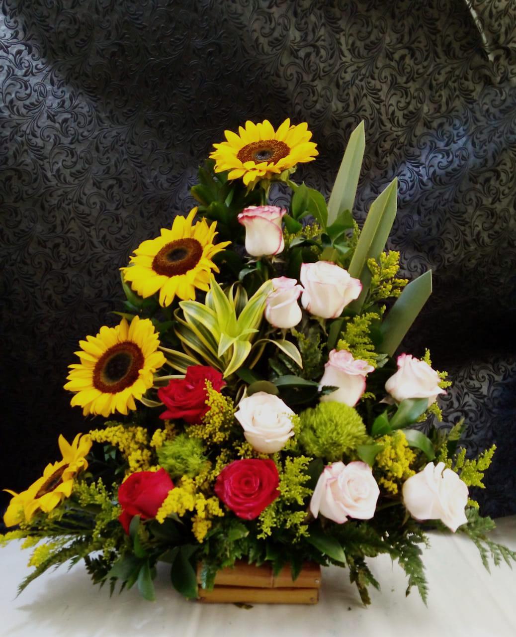 Arreglo Floral Girasol Te Admiro